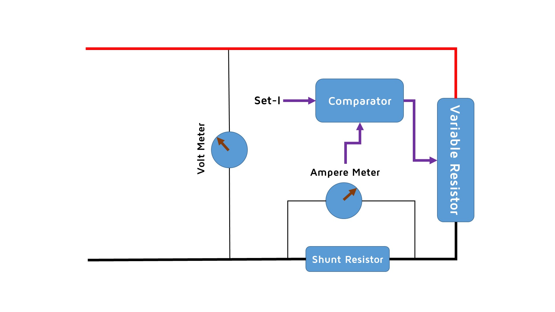 Hardware Sensorsiot How To Build A Flex Sensor Circuit With Voltage Comparator Basic Diagram Of Electronic Load