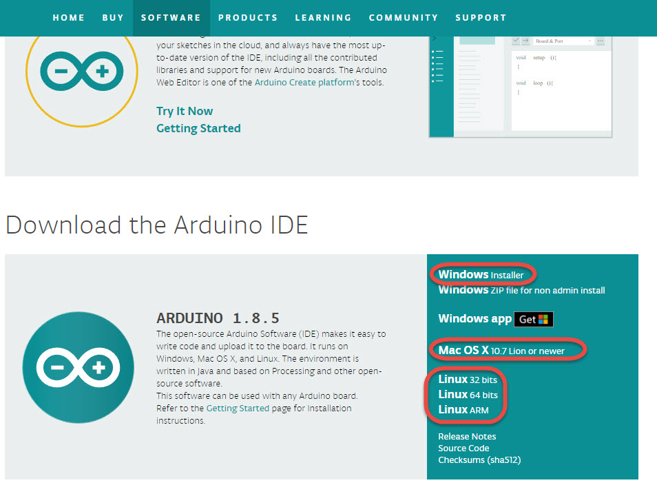 Arduino ide download ios