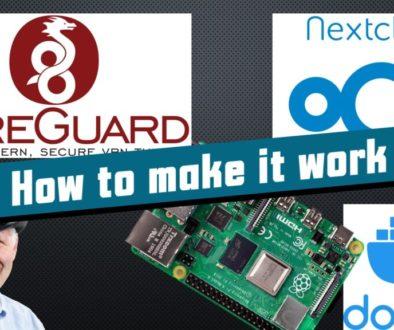 Wireguard and NextCloud